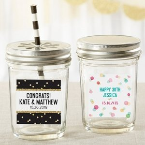 Personalized Party Time Mason Jar (Set of 12) image