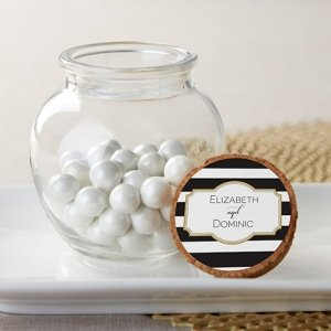 Personalized Classic Glass Sphere Jar (Set of 12) image