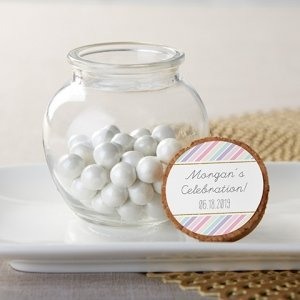 Personalized So Sweet Glass Sphere Jar (Set of 12) image