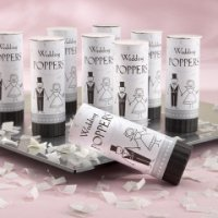 'Have A Blast!' Biodegradable Wedding Poppers (Set of 12)