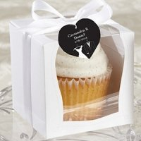 Sweetness & Light Wedding Cupcake Boxes (Set of 12)