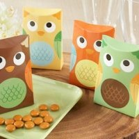 Who's Happy Personalized Owl Favor Boxes (Set of 24)