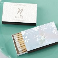 Personalized Ethereal Design Matchboxes (Set of 50)