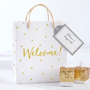 Gold Foil Dot Welcome Bag (Set of 12) image