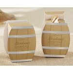 Wine Barrel Favor Box (Set of 24)