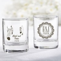Personalized Boho Shot Glass/Votive Holder Favors