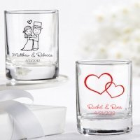 glass wedding favors personalized shot glass favor wedding favors