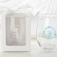 Personalized 9 oz. Ethereal Stemless Wine Glass