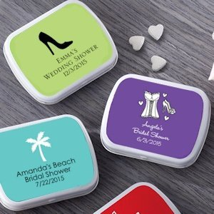 Personalized Bridal Shower Mint Tins (165 Designs) image