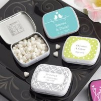 Personalized Springtime Mint Tins (165 Designs)