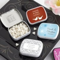 Personalized Winter Themed Mint Tins (165 Designs)