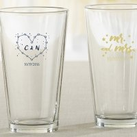 Personalized Under the Stars Pint Glass