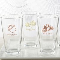 Personalized Fall Design Pint Glass