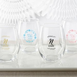 Personalized 15 oz Ethereal Stemless Wine Glass image