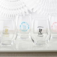 Personalized 15 oz Ethereal Stemless Wine Glass