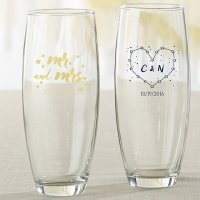 Personalized Under the Stars Stemless Champagne Glass