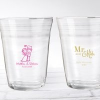 Personalized Wedding Design Party Cup Glass Favors