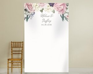 Personalized English Garden Backdrop image