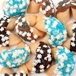 Winter Snowflakes Gourmet Fortune Cookies