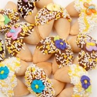 Spring Themed Gourmet Fortune Cookie Favors