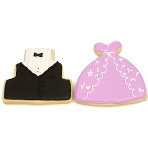Tuxedo & Gown Cookie Favors image