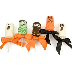 Spooky Halloween Marshmallow Pops - Set of 5 image