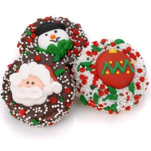 Chocolate Covered Christmas Oreo Favors image