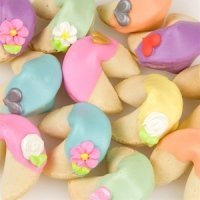 Custom Rainbow Wedding Fortune Cookies