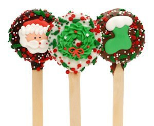 Christmas Oreo Cookie Pop Favors image