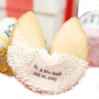 Custom Wedding Fortune Cookie Favors