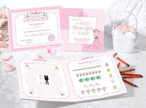 Activity Book Set (Flower Girl or Ring Bearer) image