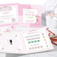 Activity Book Set (Flower Girl or Ring Bearer)