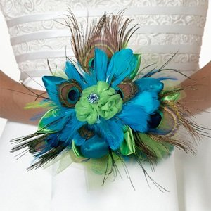 Peacock Flair Bouquet image
