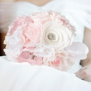 Blush Pink Bridal Bouquet image