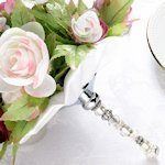 Beaded Bouquet Holder - Ivory or White