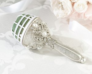 Jeweled Bouquet Holder image