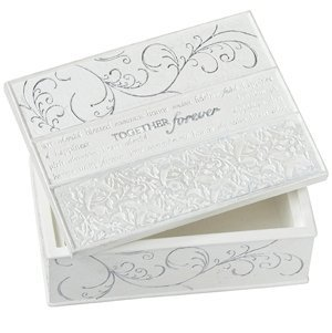 Together Forever Keepsake Memory Box image