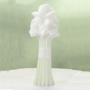 Calla Lily Bouquet Candle image