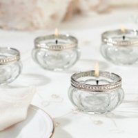 Dazzling Tealight Cups (Set of 4)