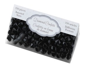 Diamond Confetti - Black image