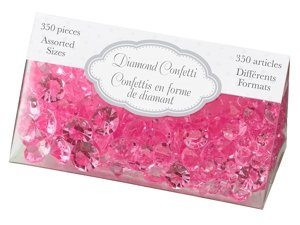 Diamond Confetti-Hot Pink image
