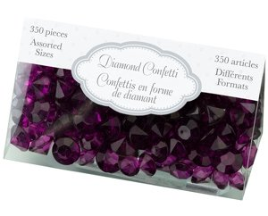 Diamond Confetti - Purple Plum image