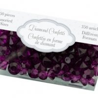 Diamond Confetti - Purple Plum