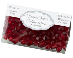 Diamond Confetti - Red image