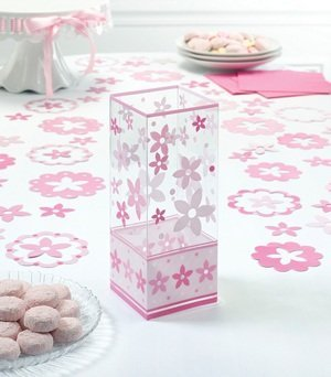 Pink Flower Centerpieces (Set of 6) image