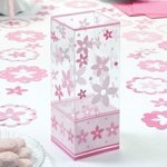 Pink Flower Centerpieces (Set of 6)