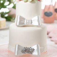 Decorative Resin Bow Cake Pick (2 Designs)