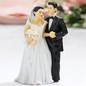 Happy Couple Figurine - Hispanic image