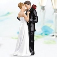 Tender Moments Cake Topper - Caucasian