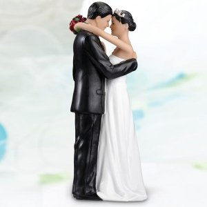Tender Moments Cake Topper - Hispanic image